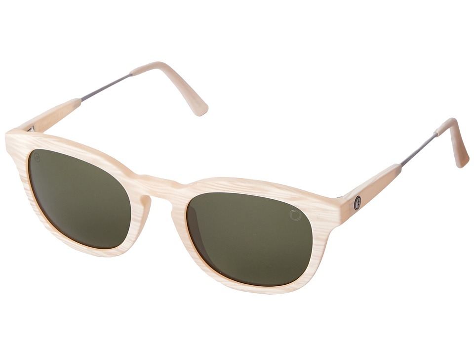 Electric Eyewear - La Txoko (Ivory Horn/M Grey) Sport Sunglasses