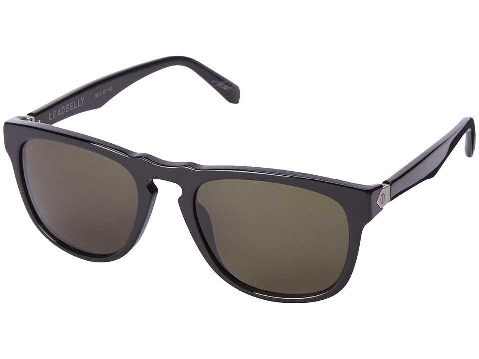 Electric Eyewear - Leadbelly (Gloss Black/M Grey) Sport Sunglasses