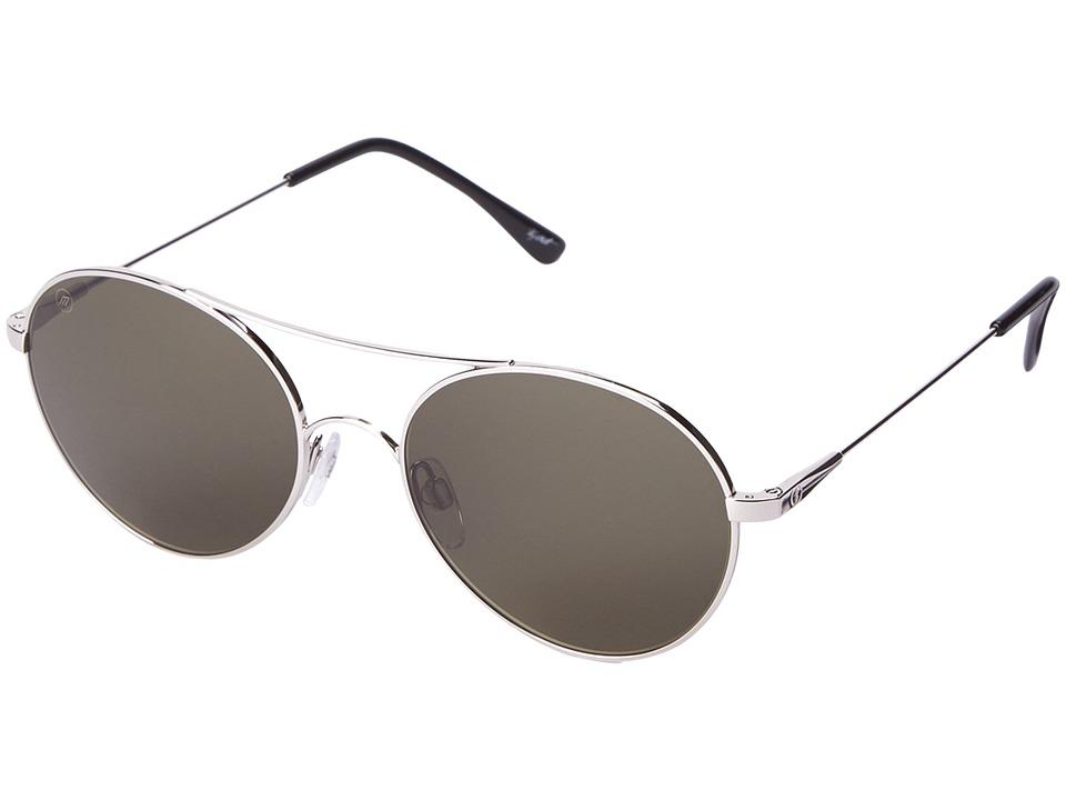 Electric Eyewear - Huxley (Platinum/M Grey) Sport Sunglasses