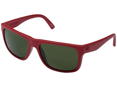 Electric Eyewear - Swingarm (Alpine Red/M Grey) Sport Sunglasses