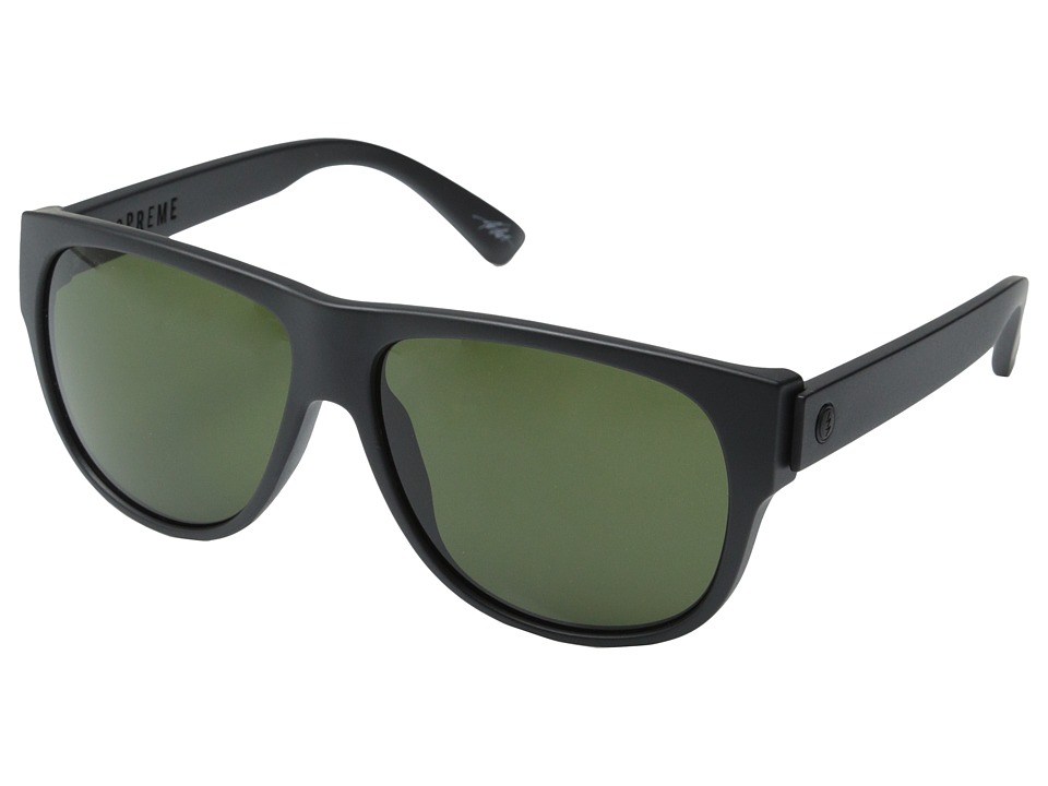 Electric Eyewear - Mopreme (Matte Black/M Grey) Sport Sunglasses