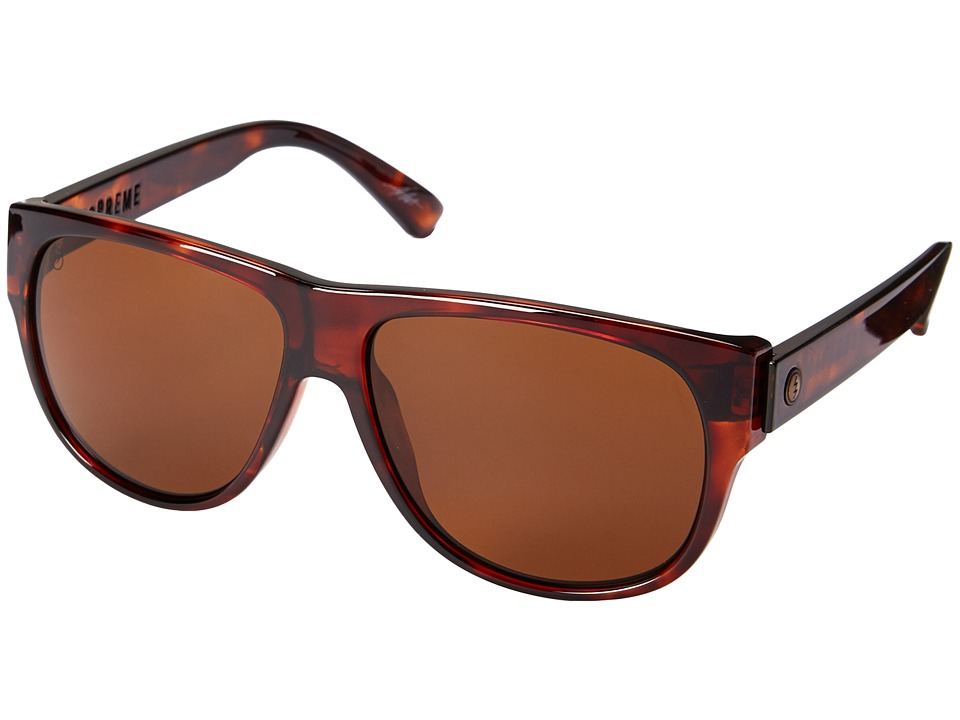 Electric Eyewear - Mopreme (Tort Shell/M Bronze) Sport Sunglasses