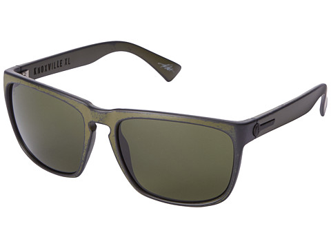 Electric Eyewear - Knoxville XL (Combat Green/M Grey) Sport Sunglasses