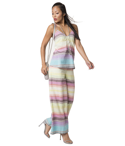 Mara Hoffman - Wide Leg Pants (Rainbow Stripe) Women's Casual Pants