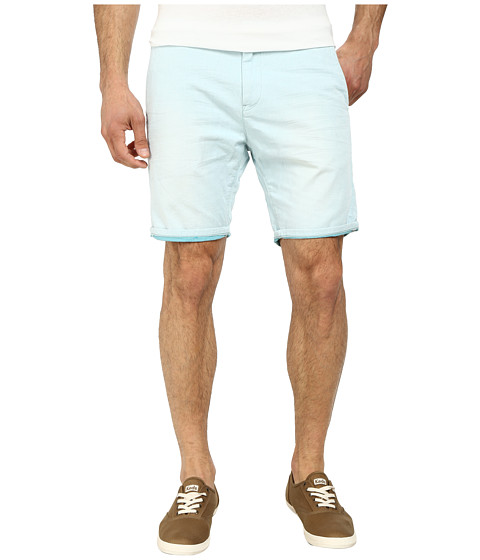 Scotch & Soda - Two-Tone Woven Chino Shorts (Mint) Men's Shorts