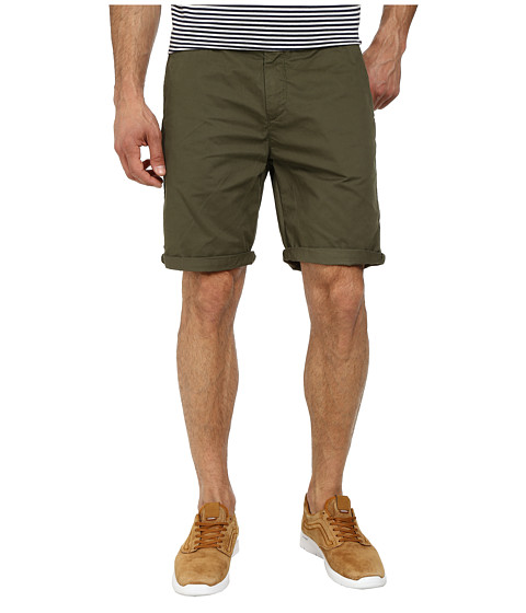 Scotch & Soda - Pima Cotton Chino Shorts (Army Green) Men