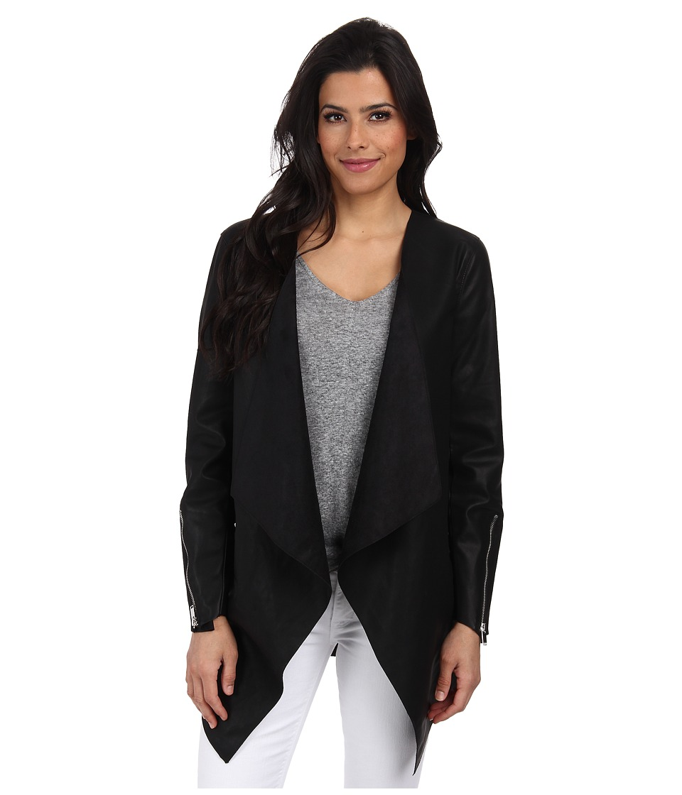 ONLY - Rider Jacket (Black) Women's Coat
