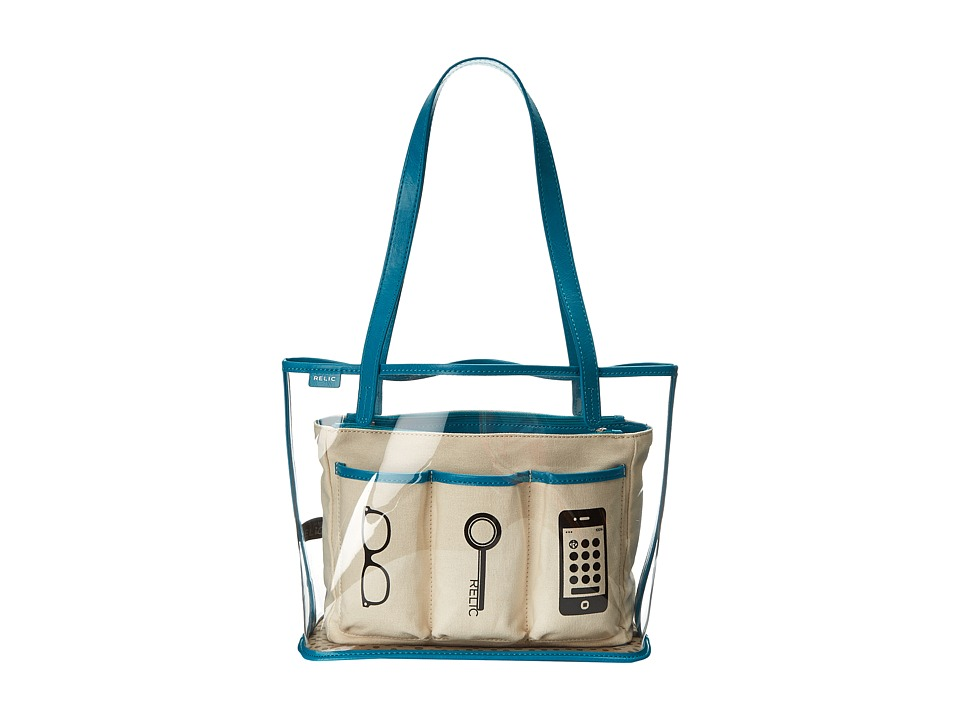 Relic - Capri Clear (Tidal Blue) Handbags