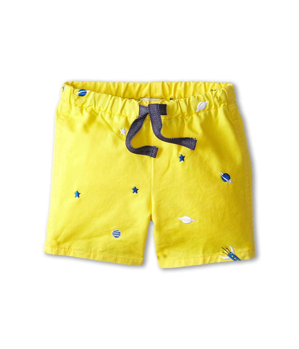 Paul Smith Junior - Embroidered Stars and Spaceship Shorts (Infant) (Sun) Boy's Shorts