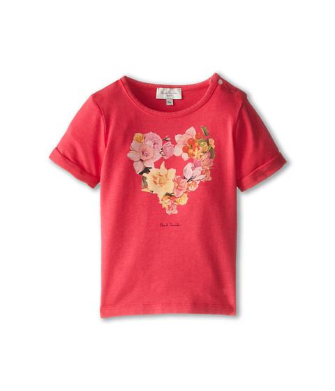 Paul Smith Junior - Flower Heart T-Shirt (Infant) (Geranium) Girl