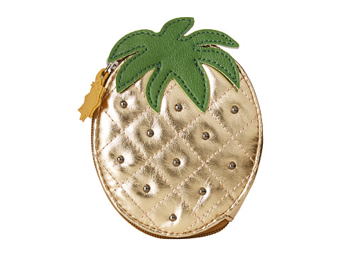 Relic - Takeaway Zip Coin Pineapple (Gold) Coin Purse