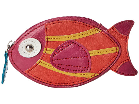Relic - Takeaway Zip Coin Fish (Salmon) Coin Purse