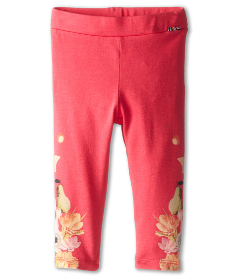 Paul Smith Junior - Flower Print Leggings (Infant) (Geranium) Girl's Casual Pants