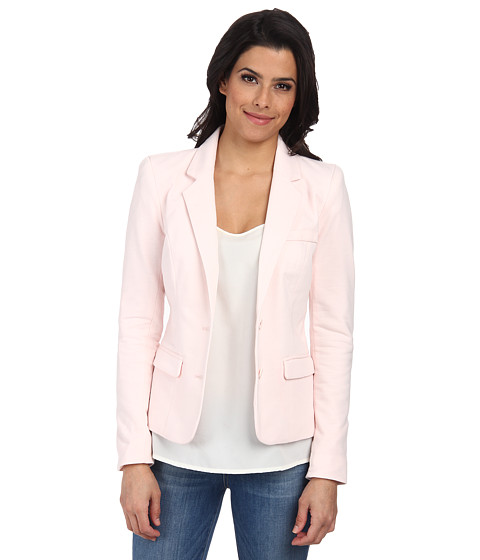ONLY - Ester Long Sleeve Blazer Box (Barely Pink) Women
