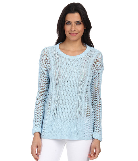 ONLY - Escape Knit Pullover (Cool Blue) Women's Sweater