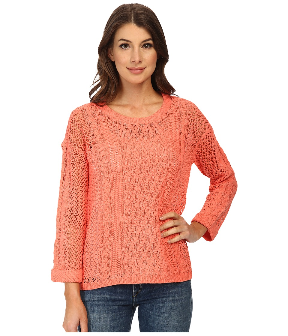 ONLY - Escape Knit Pullover (Sugar Coral) Women's Sweater