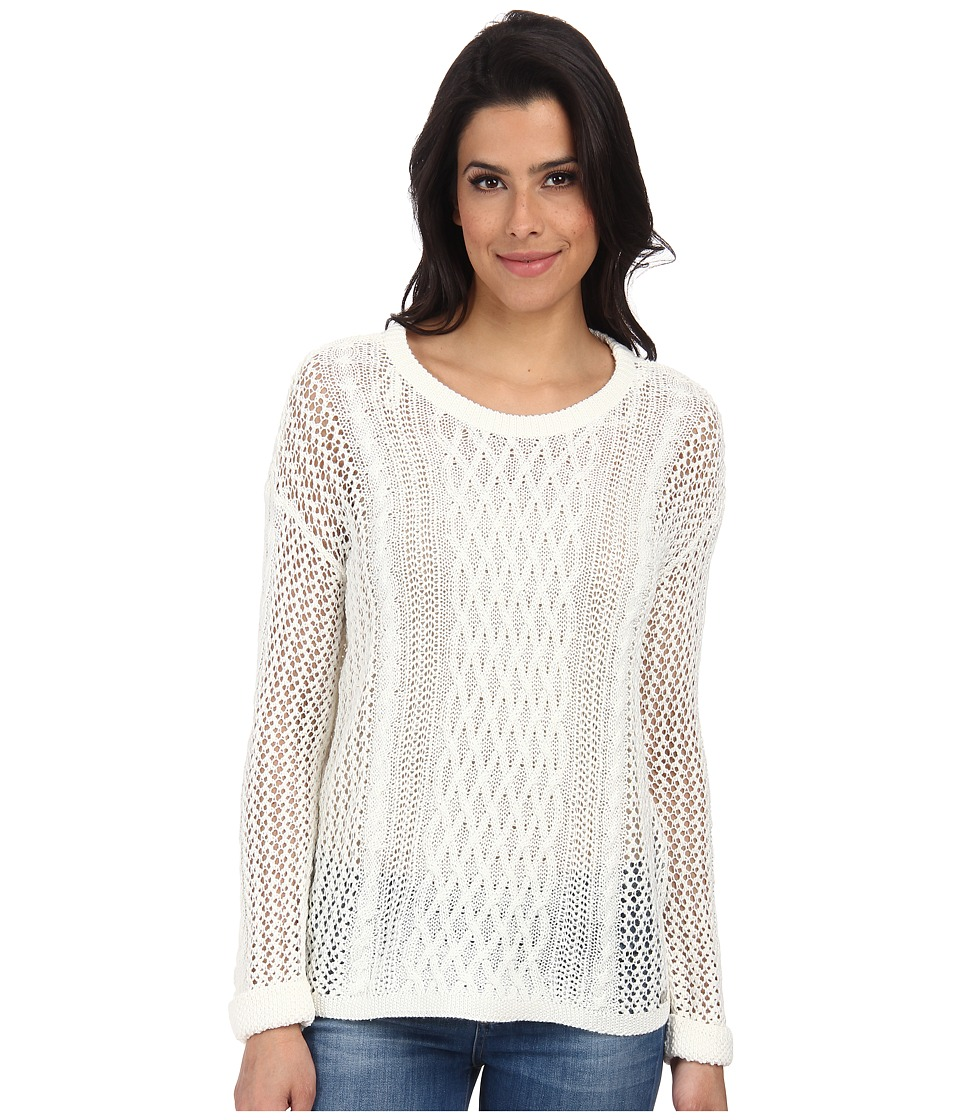 ONLY - Escape Knit Pullover (Cloud Dancer) Women's Sweater