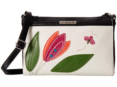 Relic - Caraway Crossbody (White/Pink) Cross Body Handbags