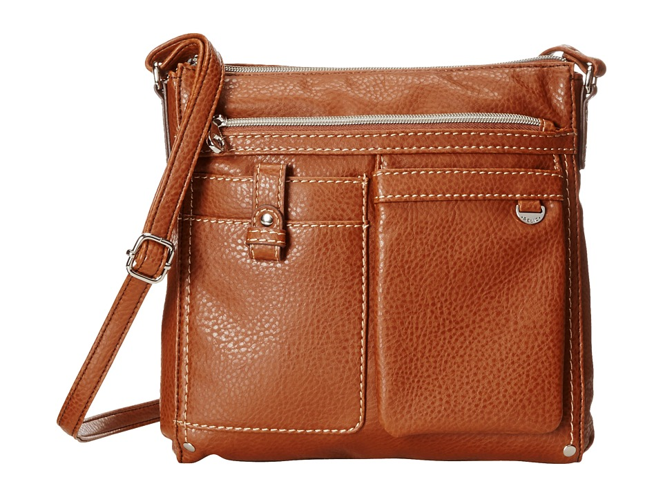 Relic - Libby Crossbody (Brown) Cross Body Handbags