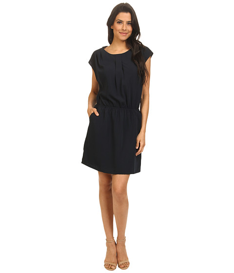 ONLY - Miley Short Sleeve Dress (Mood Indigo) Women's Dress