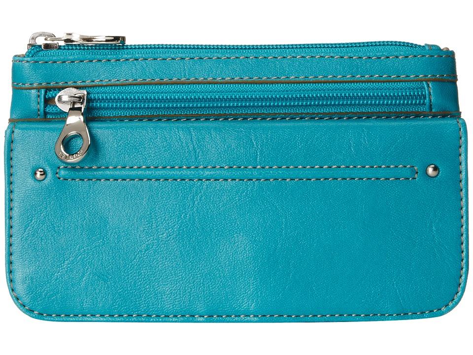 Relic - Bleeker Checkbook (Ocean Blue) Checkbook Wallet