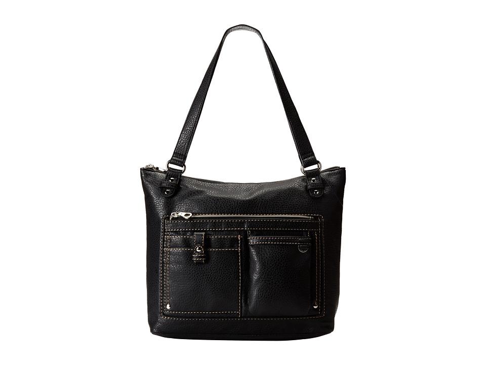 Relic - Libby Double Shoulder (Black) Shoulder Handbags