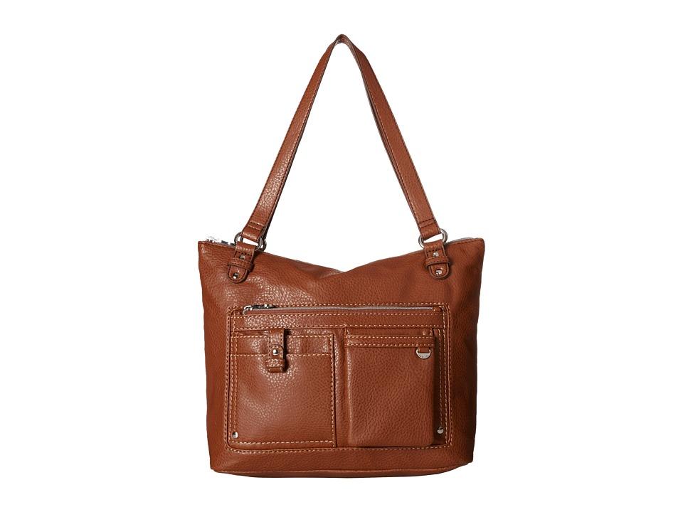 Relic - Libby Double Shoulder (Brown) Shoulder Handbags