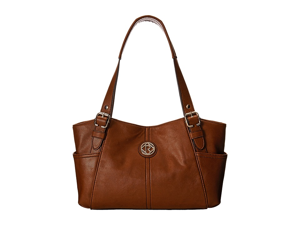 Relic - Bleeker Double Shoulder (Brown) Shoulder Handbags