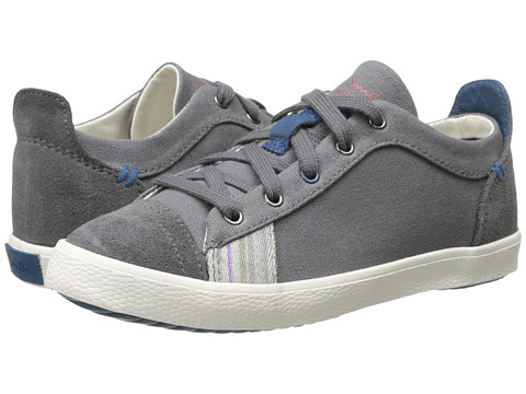Paul Smith Junior - Sneaker (Little Kid) (Plain Gray) Boy's Shoes