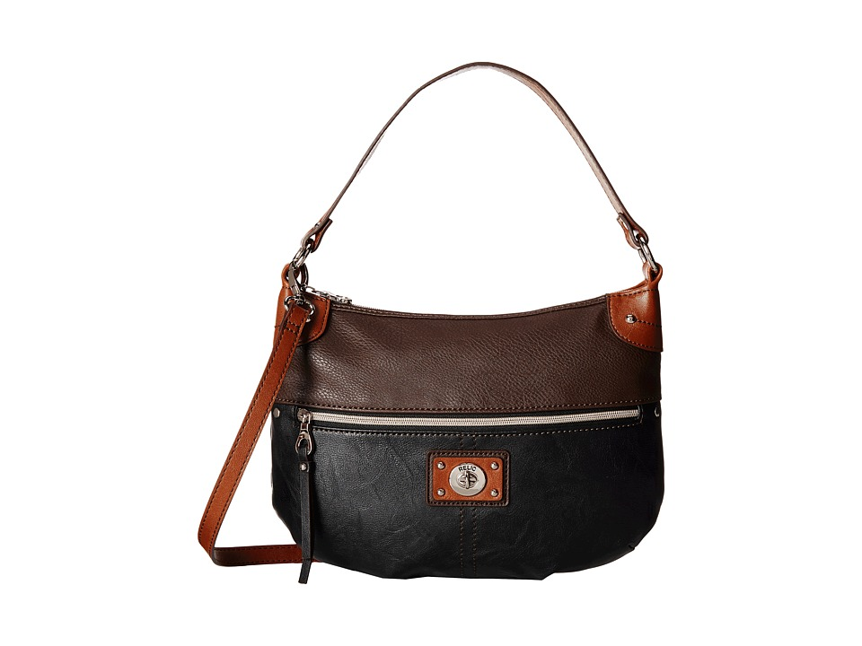 Relic - Prescott Top Zip (Brown Multi) Top-Zip Handbags