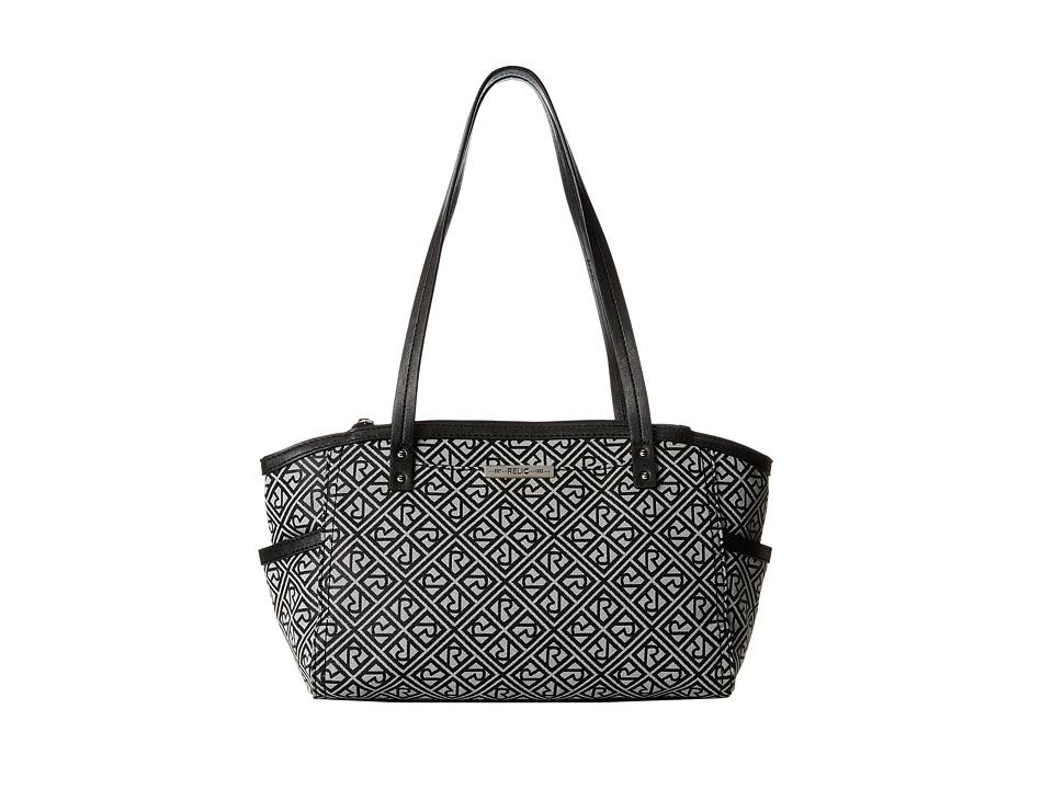 Relic - Logo Jacquard Double Shoulder (Grey Black) Shoulder Handbags