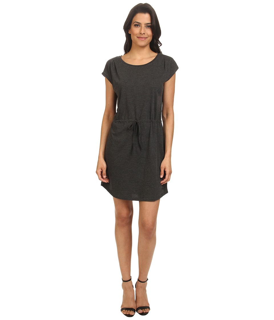 ONLY - April Short Sleeve Dress Plain (Black) Women's Dress
