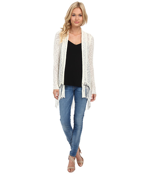 ONLY - Primitive Long Sleeve Drapy Cardigan (Cloud Dancer) Women