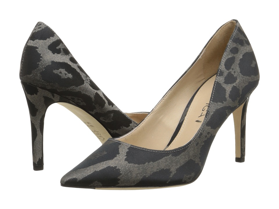 Via Spiga Carola (Heather Pearl Leopard Jacquard) High Heels