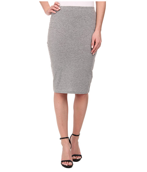 ONLY - Abbie Midi Skirt (Light Grey Melange) Women's Skirt