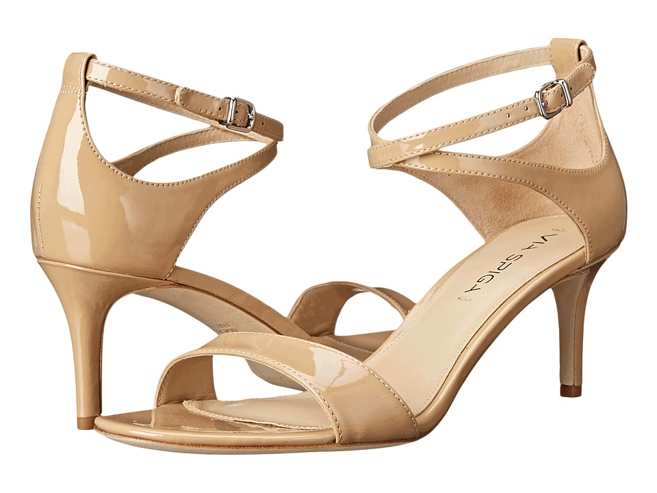 Via Spiga - Leesa (Nude Patent) Women's Sandals