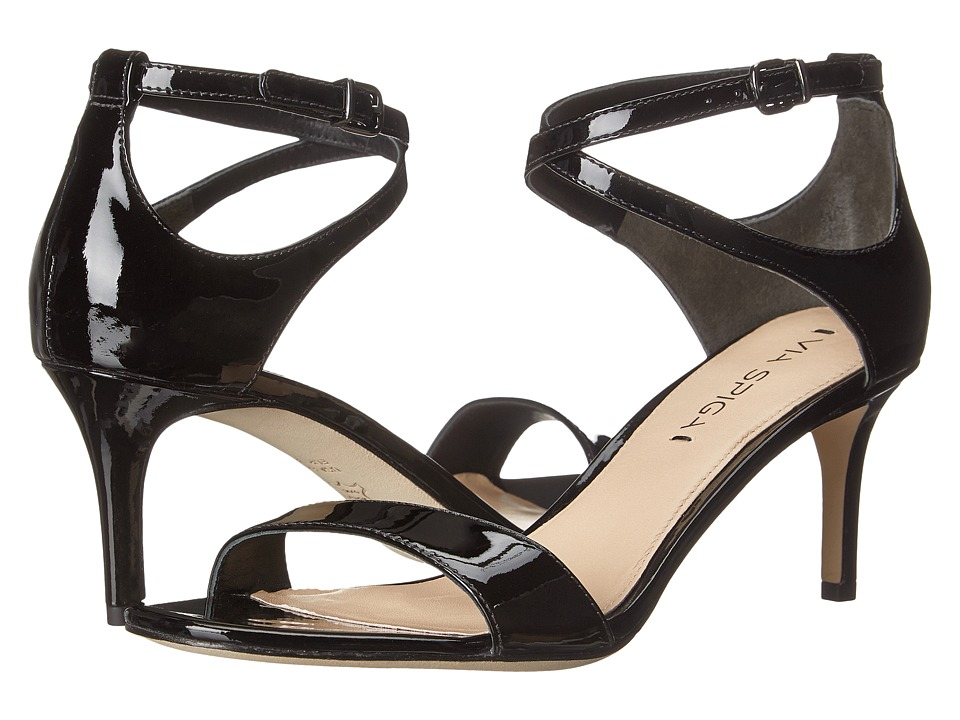 Via Spiga Leesa (Black Patent) Women
