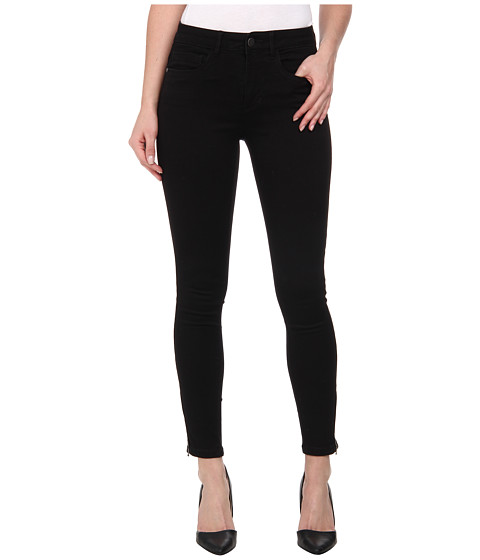 ONLY - Royal Regular Skinny Ankle Zip Jeans (Black) Women's Jeans