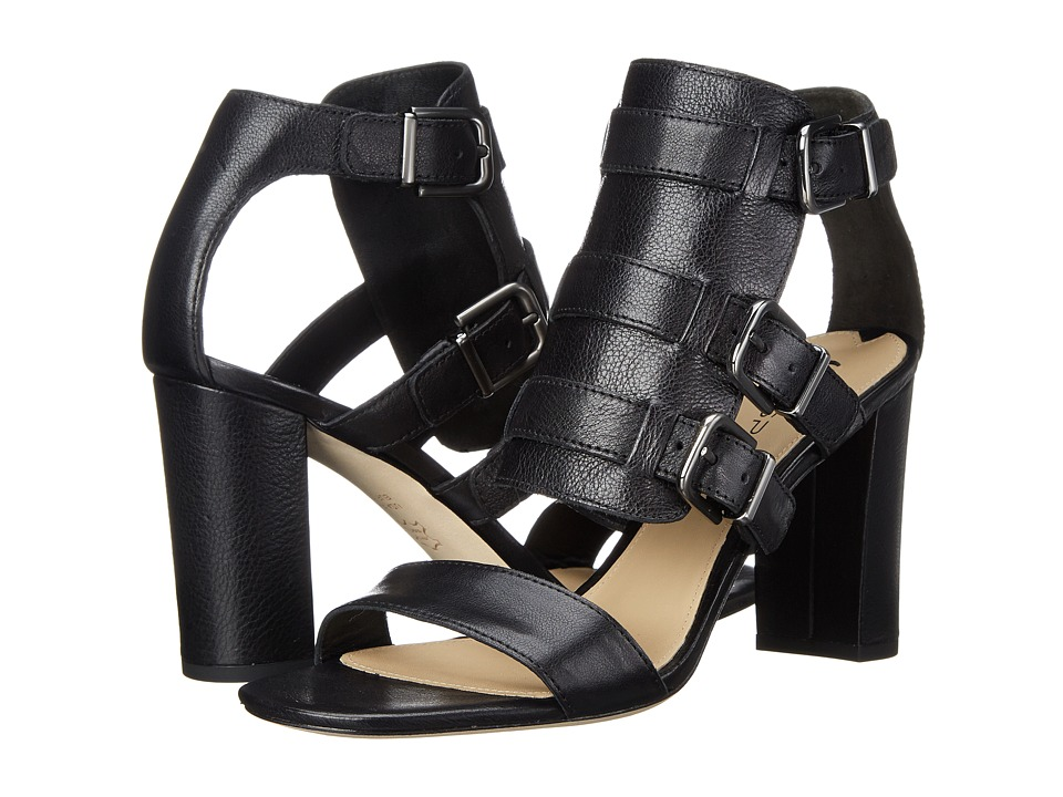 Via Spiga Revel (Black Toledo Tumbled Calf) High Heels