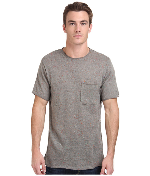 Publish - Kenzo Speckled Crew Neck Tee (Grey) Men's T Shirt