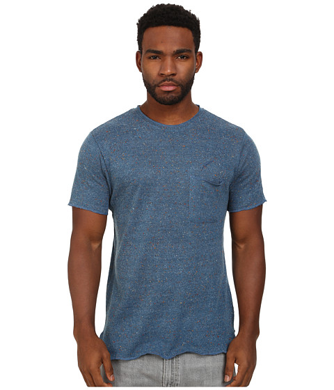 Publish - Kenzo Speckled Crew Neck Tee (Blue) Men's T Shirt