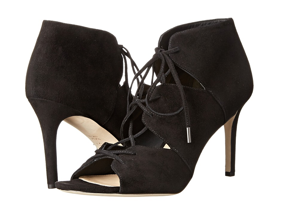 Via Spiga - Vibe (Black Kid Suede) High Heels
