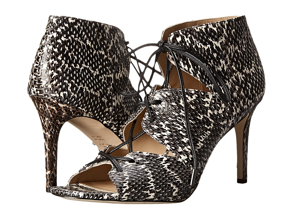 Via Spiga Vibe (Black White Dot Print Snake) High Heels