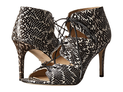 Via Spiga - Vibe (Black White Dot Print Snake) High Heels