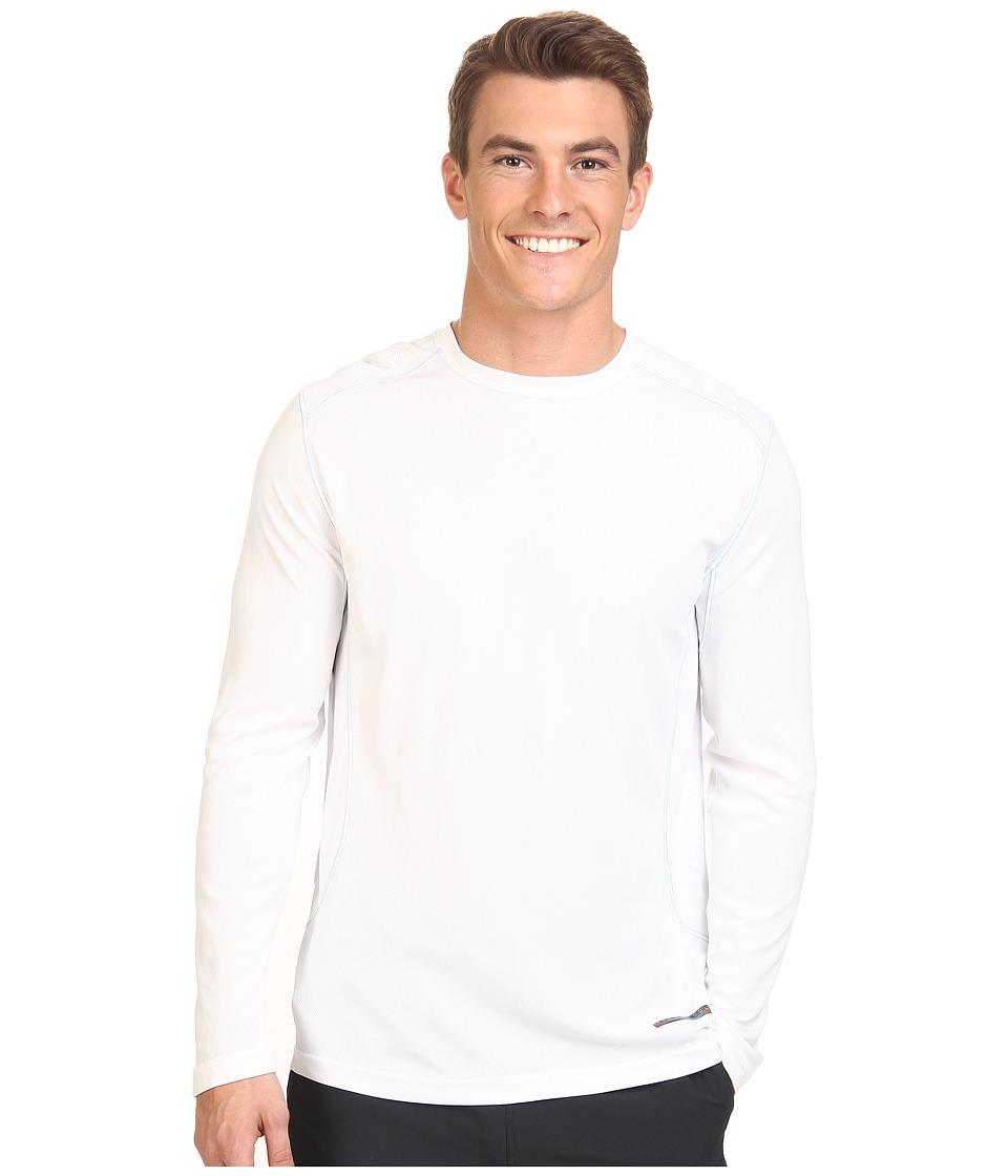 Terramar - Microcool Long Sleeve Crew W8933 (White) Men's Long Sleeve Pullover