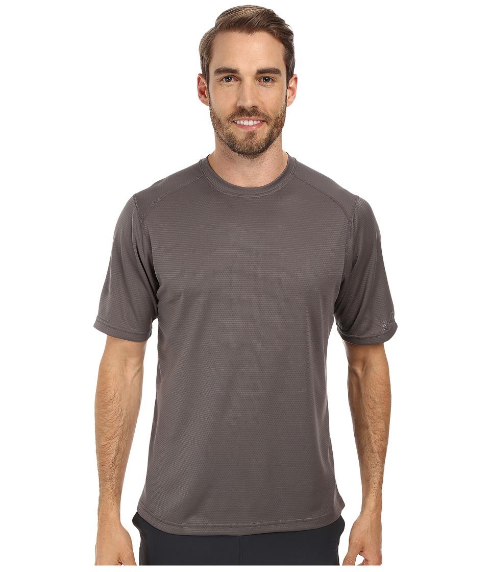 Terramar - Helix Mountain Short Sleeve Tee W7809 (Gunmetal) Men's T Shirt