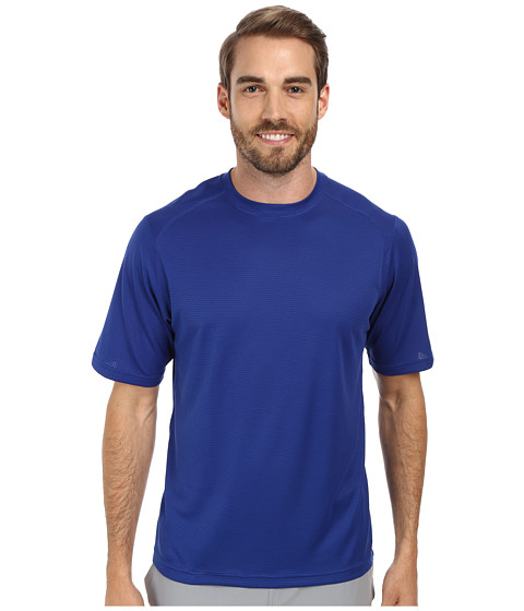 Terramar - Helix Mountain Short Sleeve Tee W7809 (Indigo) Men