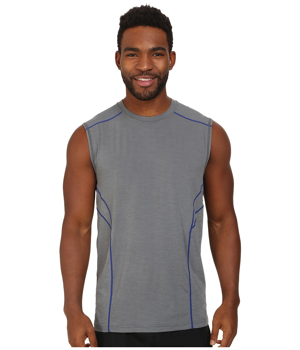Terramar - Reflex Sleeveless Crew W8911 (Neutral Grey) Men's Sleeveless