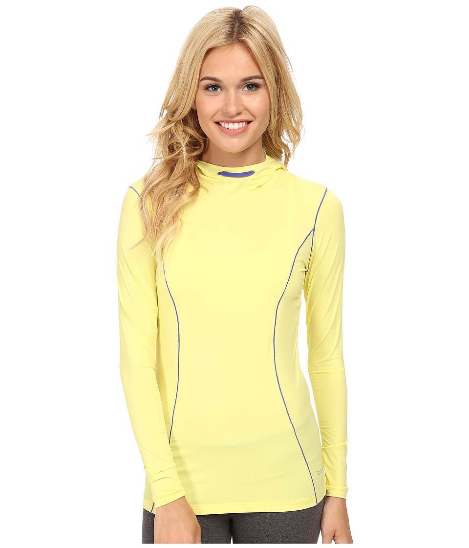 Terramar Microcool Long Sleeve Hoodie W8836 (Limelight) Women