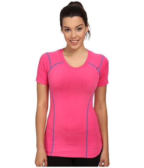 Terramar - Reflex Short Sleeve Scoop Top W8790 (Geranium) Women's Short Sleeve Pullover